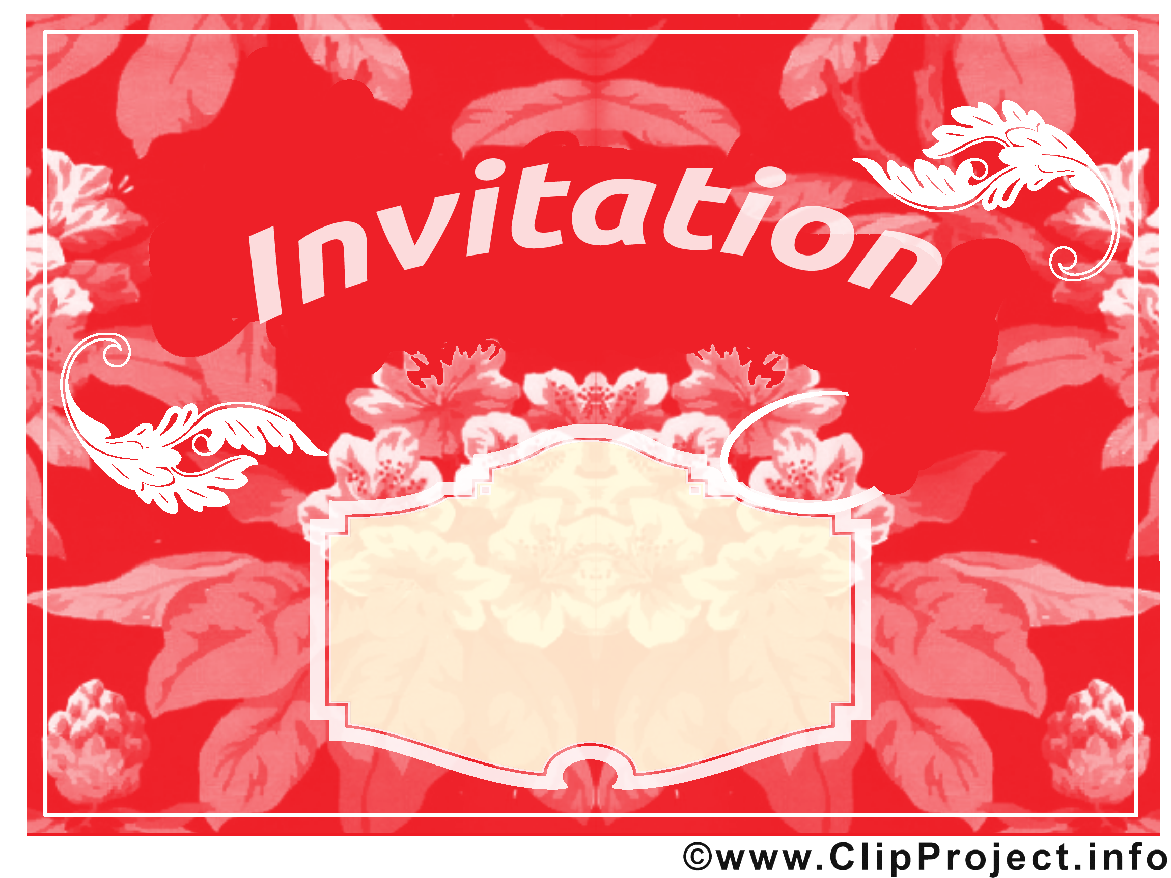 Image Invitation images cliparts