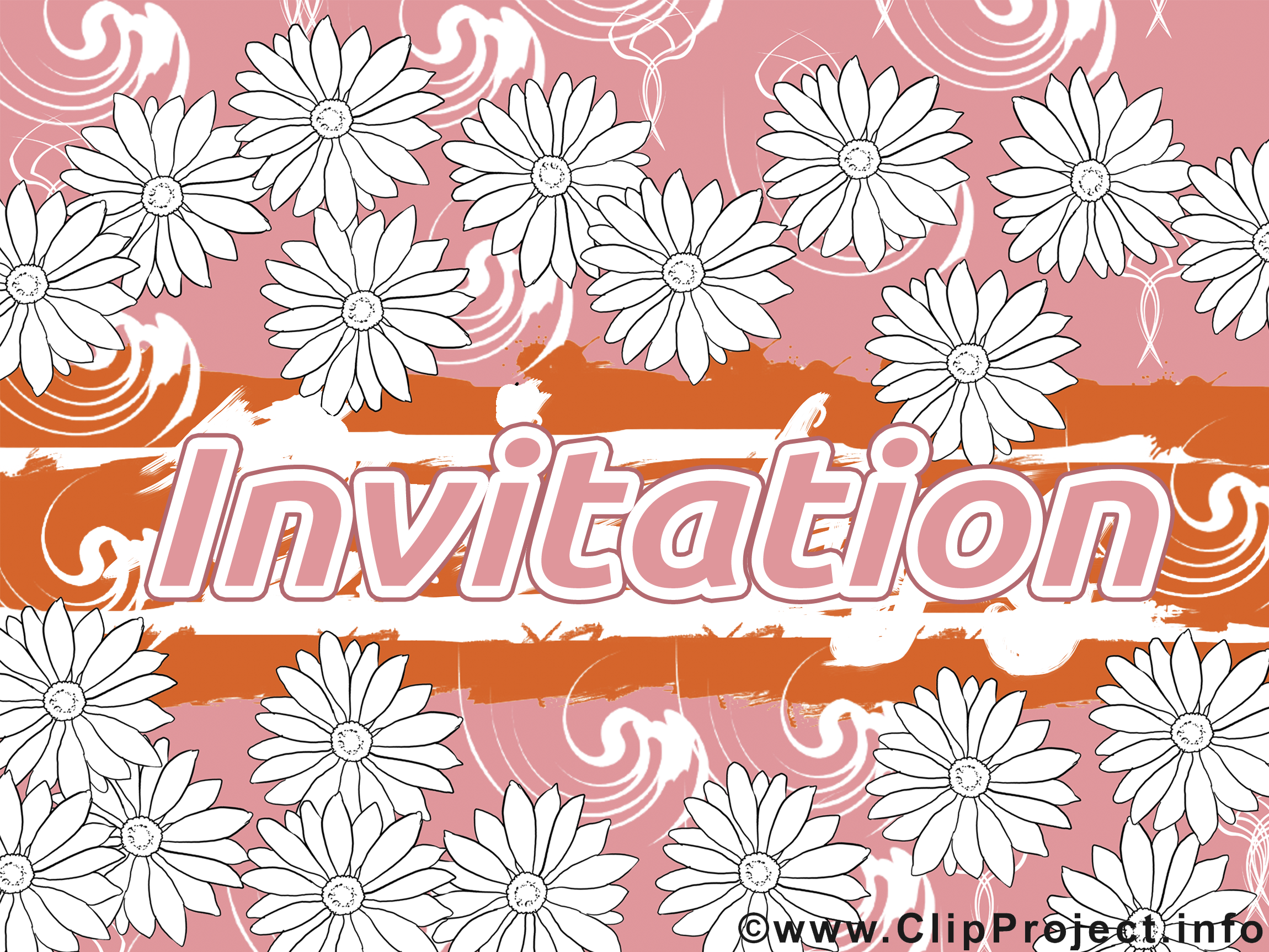 Invitation images dessins gratuits
