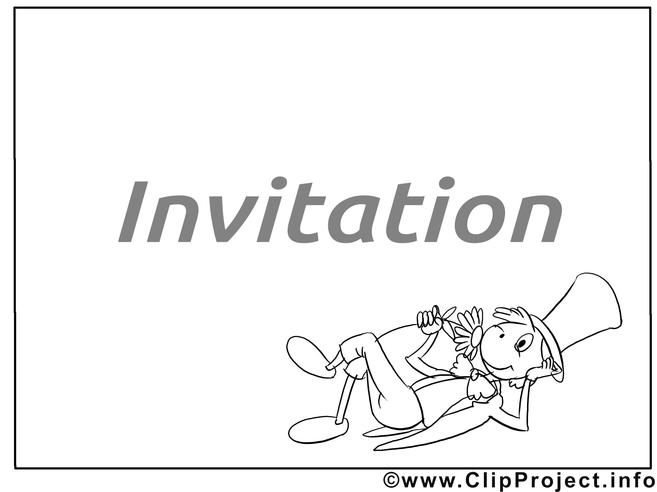 Sauterelle image à télécharger - Invitation clipart