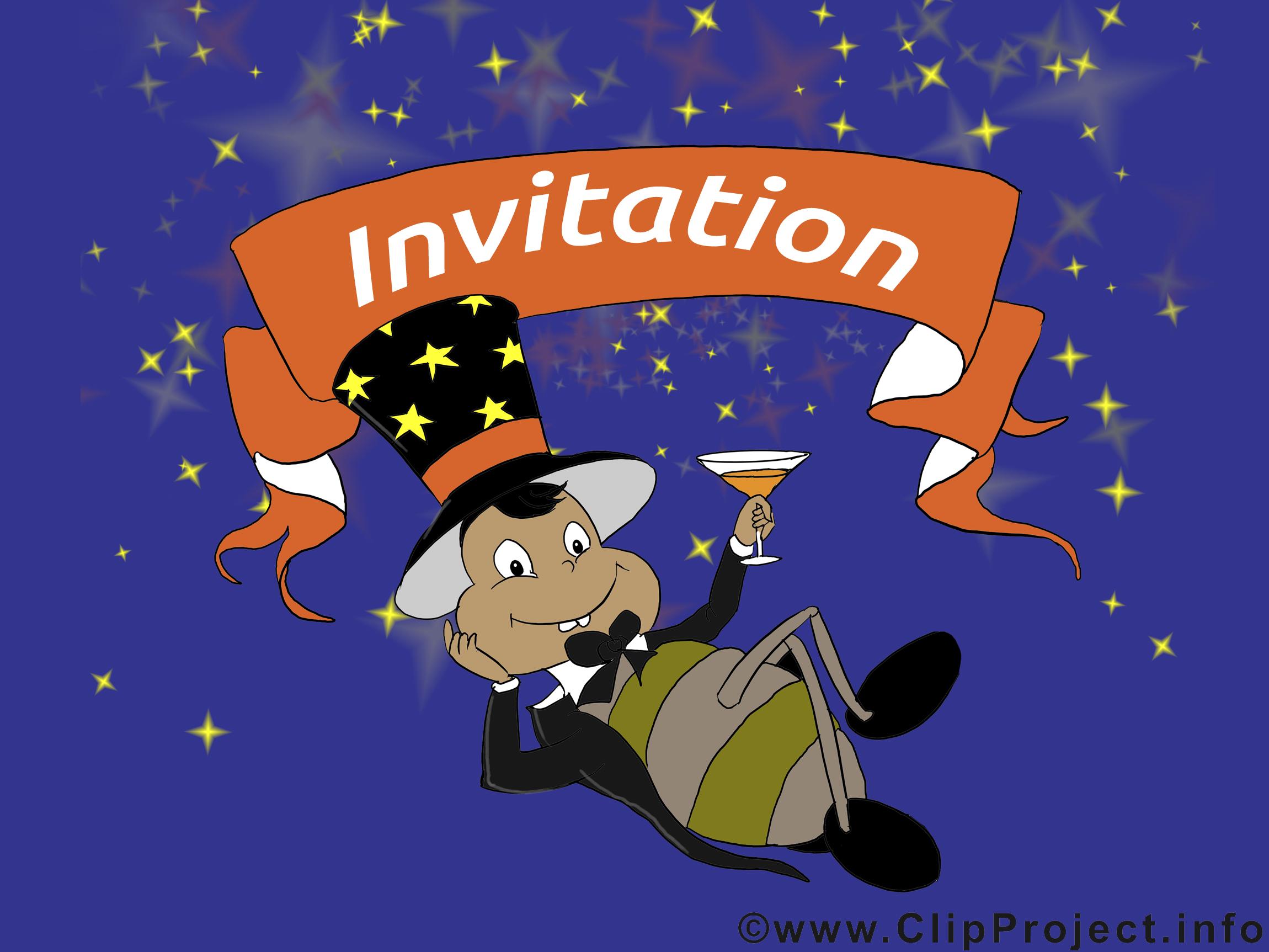 Scarabée image à télécharger - Invitation clipart