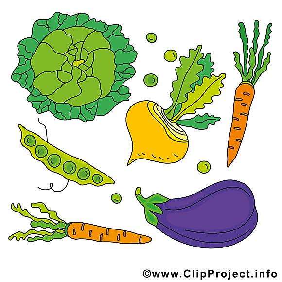 Légumes dessin clip arts gratuits
