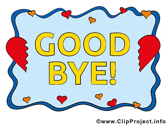 Adieu image à télécharger clipart