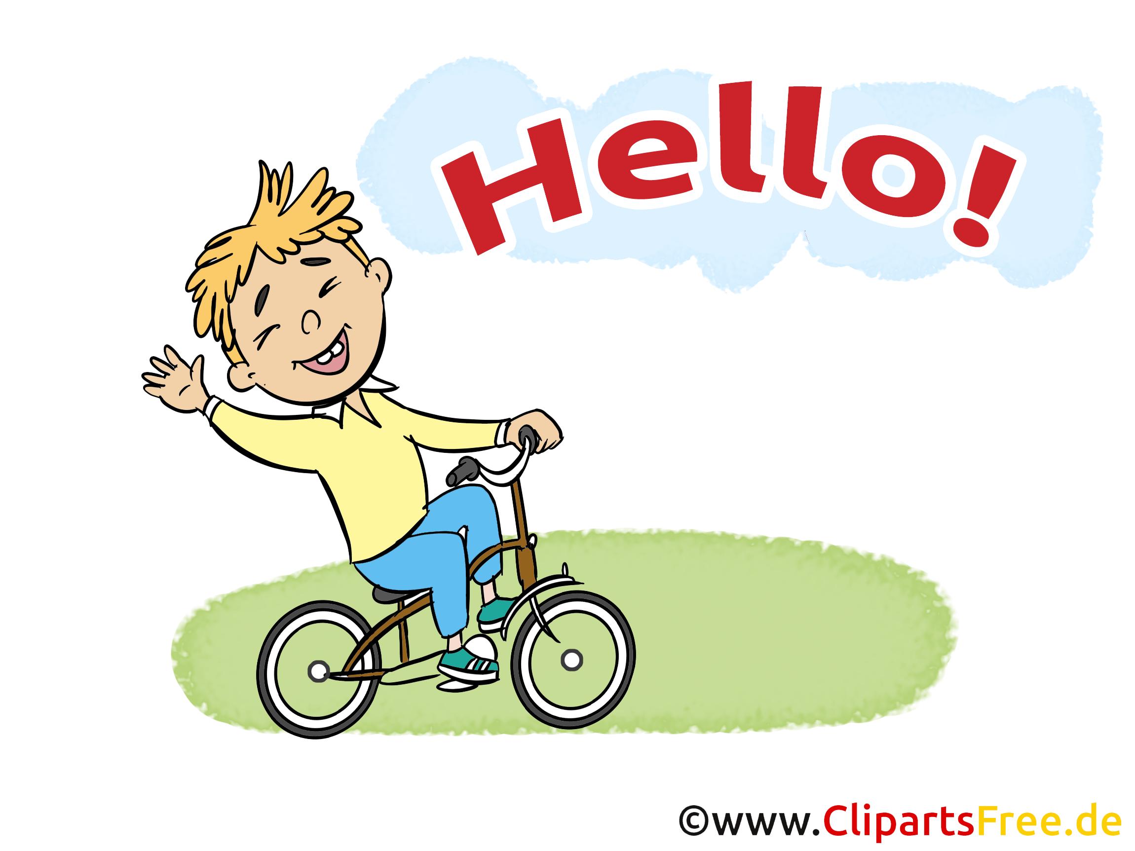 Bicyclette dessin - Salut cliparts à télécharger