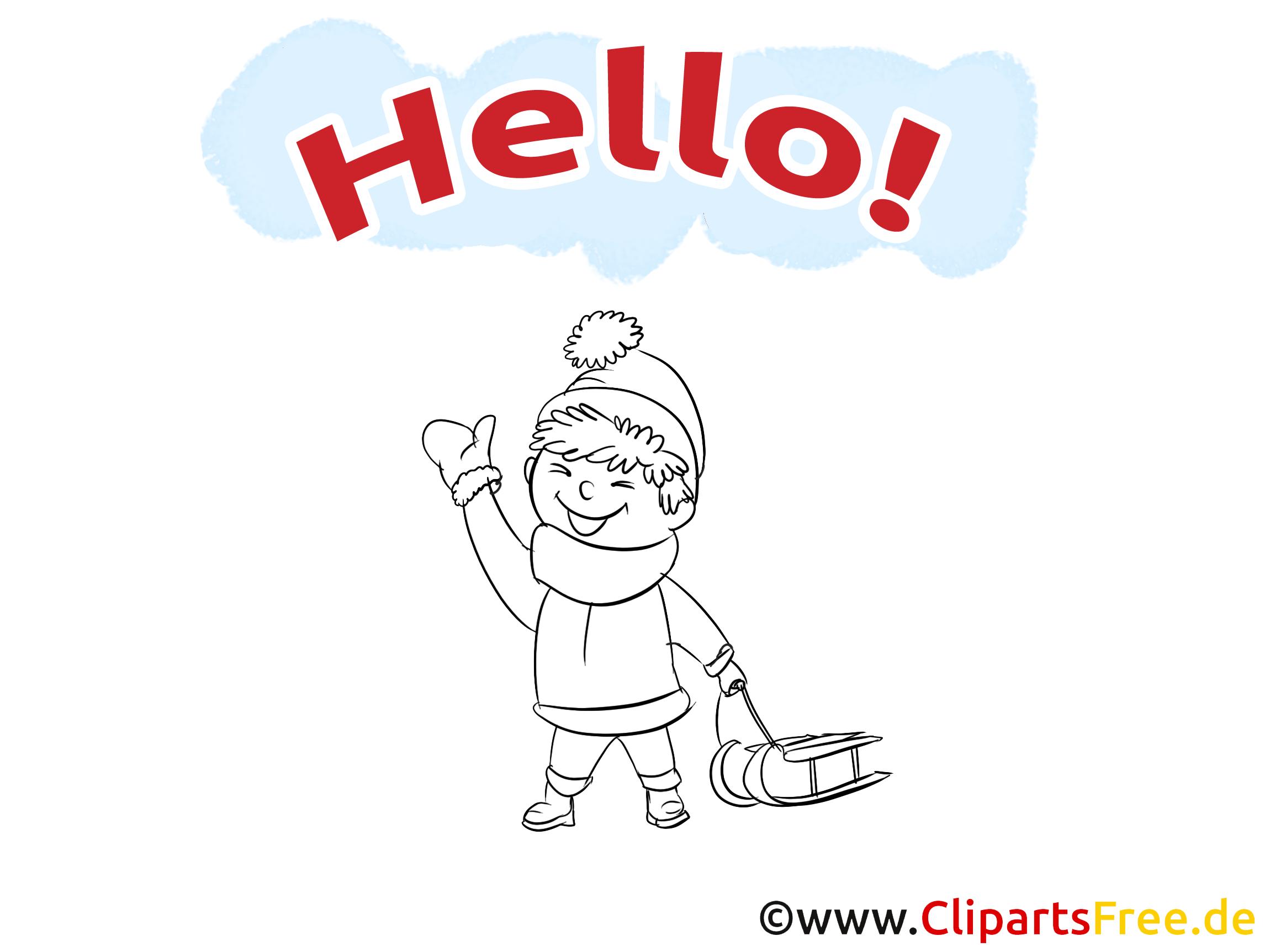 Luge images à imprimer - Salut dessins gratuits