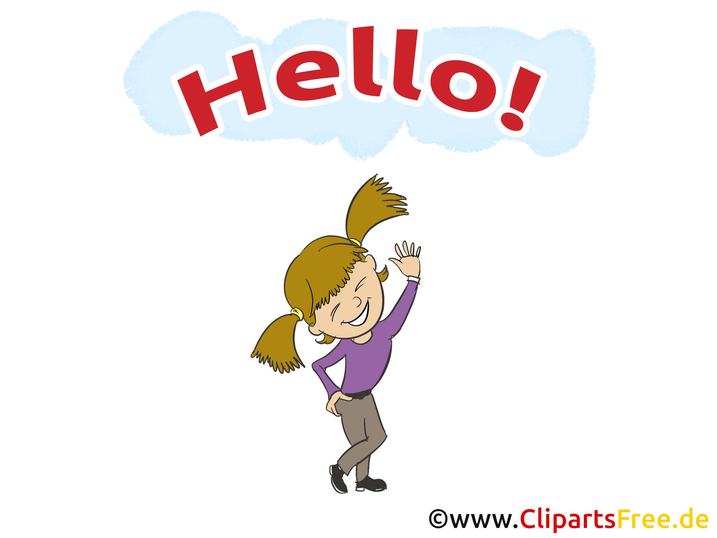 Salut clip arts gratuits illustrations