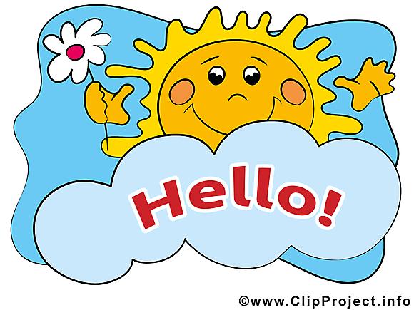 Soleil images - Bonjour dessins gratuits