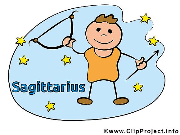 Sagittaire illustration - Signe images gratuites