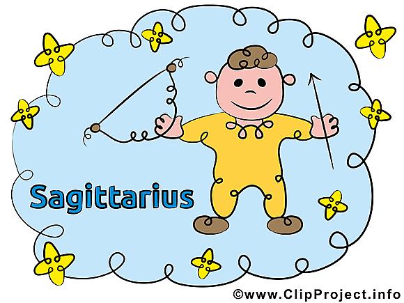 Sagittaire images gratuites – Signe clipart gratuit