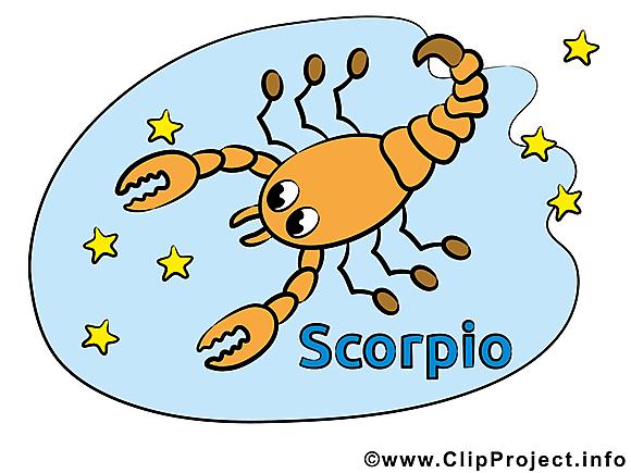 Scorpion clipart gratuit - Signe images