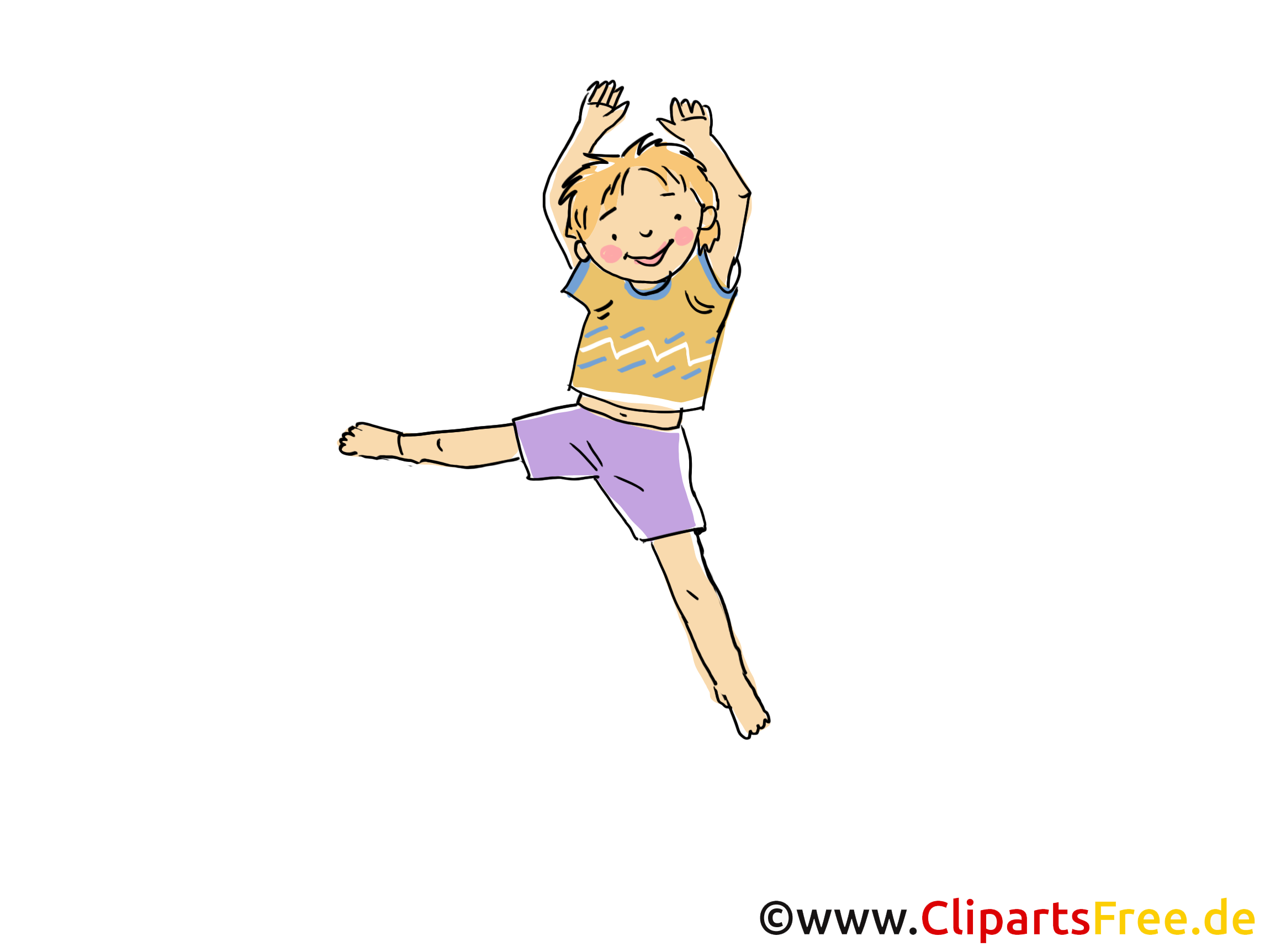 Gymnastique clip art – Loisir gratuite