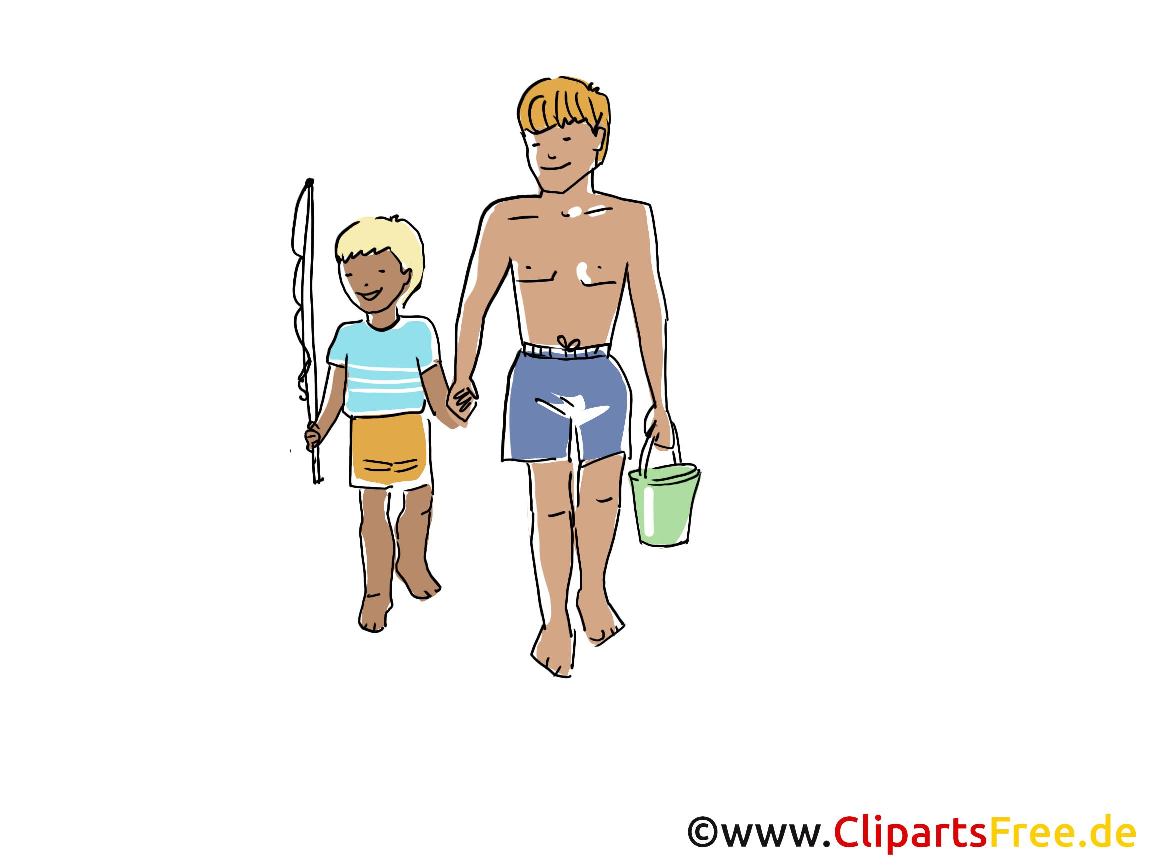 Pêche clip arts gratuits - Loisir illustrations