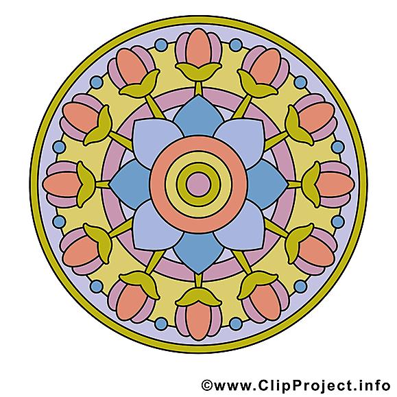 Bouddhisme mandala image gratuite illustration