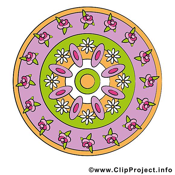 Clipart gratuit mandala images