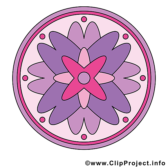 Illustration à télécharger mandala clipart