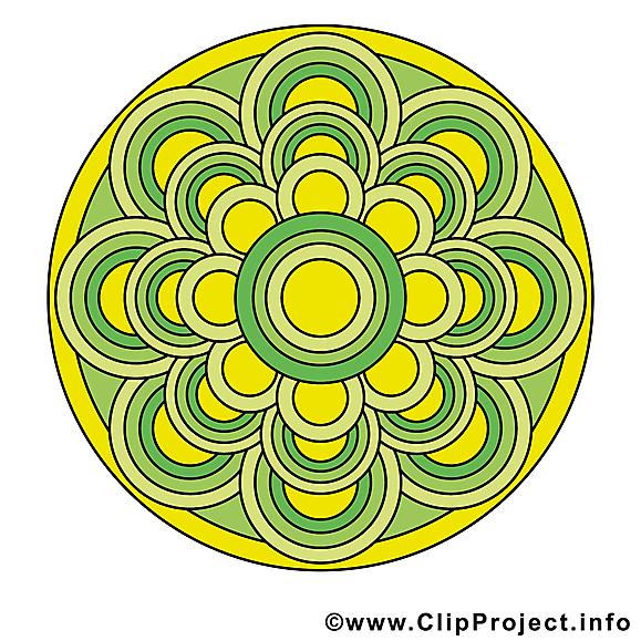 Illustration mandala images gratuites