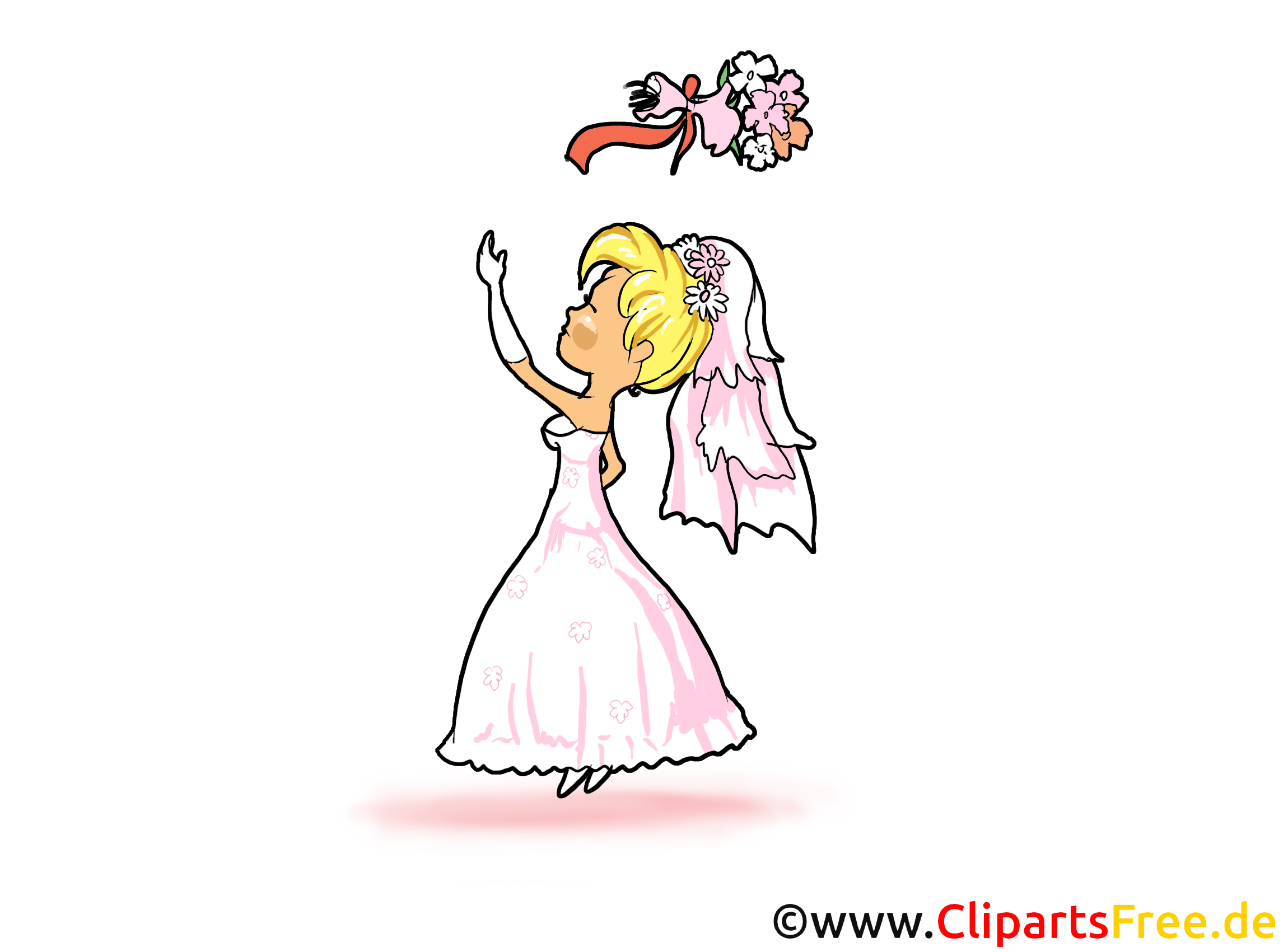 Bouquet clip art – Mariage gratuite