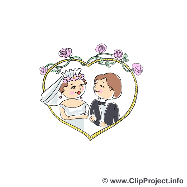 Coeur image - Mariage images cliparts