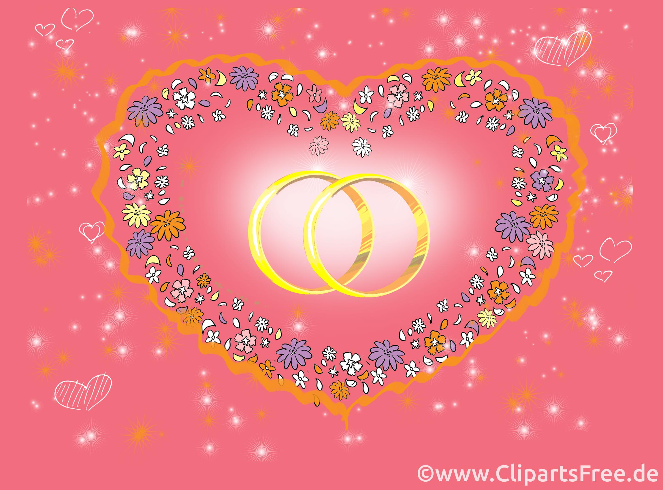 Coeur images gratuites – Mariage clipart