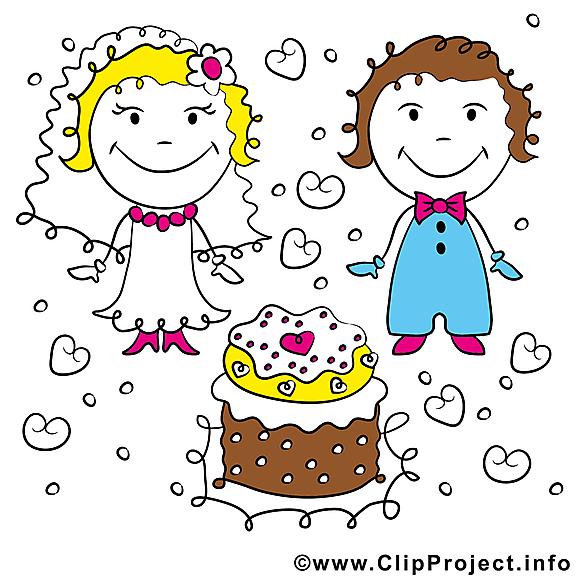 Couple mariage à télécharger gratuite