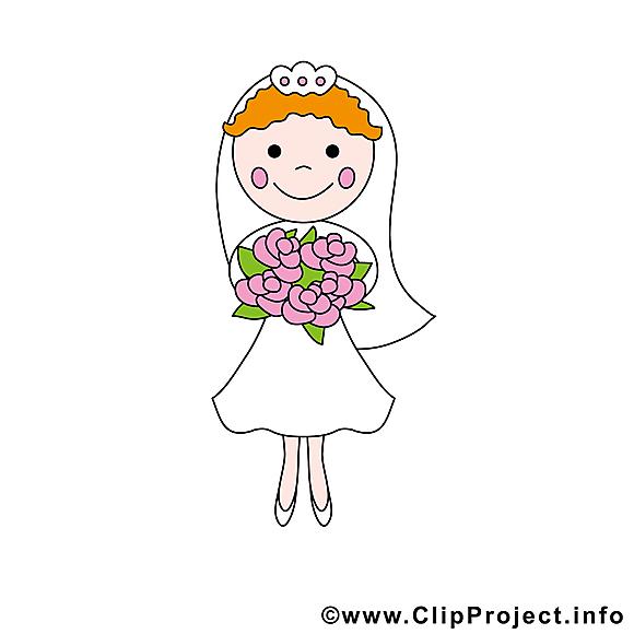 Images fiancée - Mariage clip art gratuit