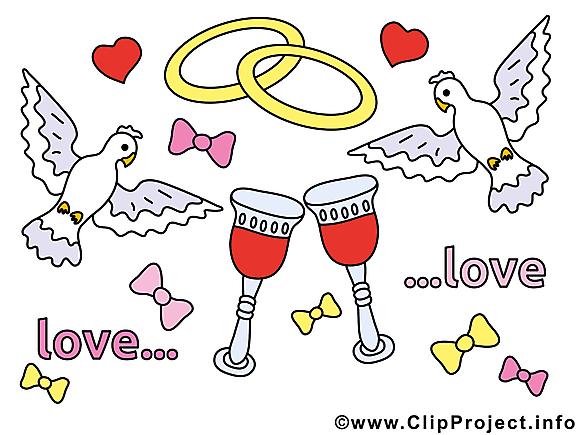 Mariage image à télécharger clipart