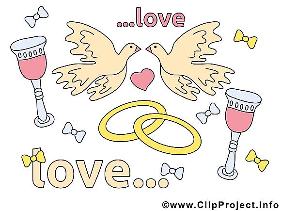 Mariage images gratuites clipart