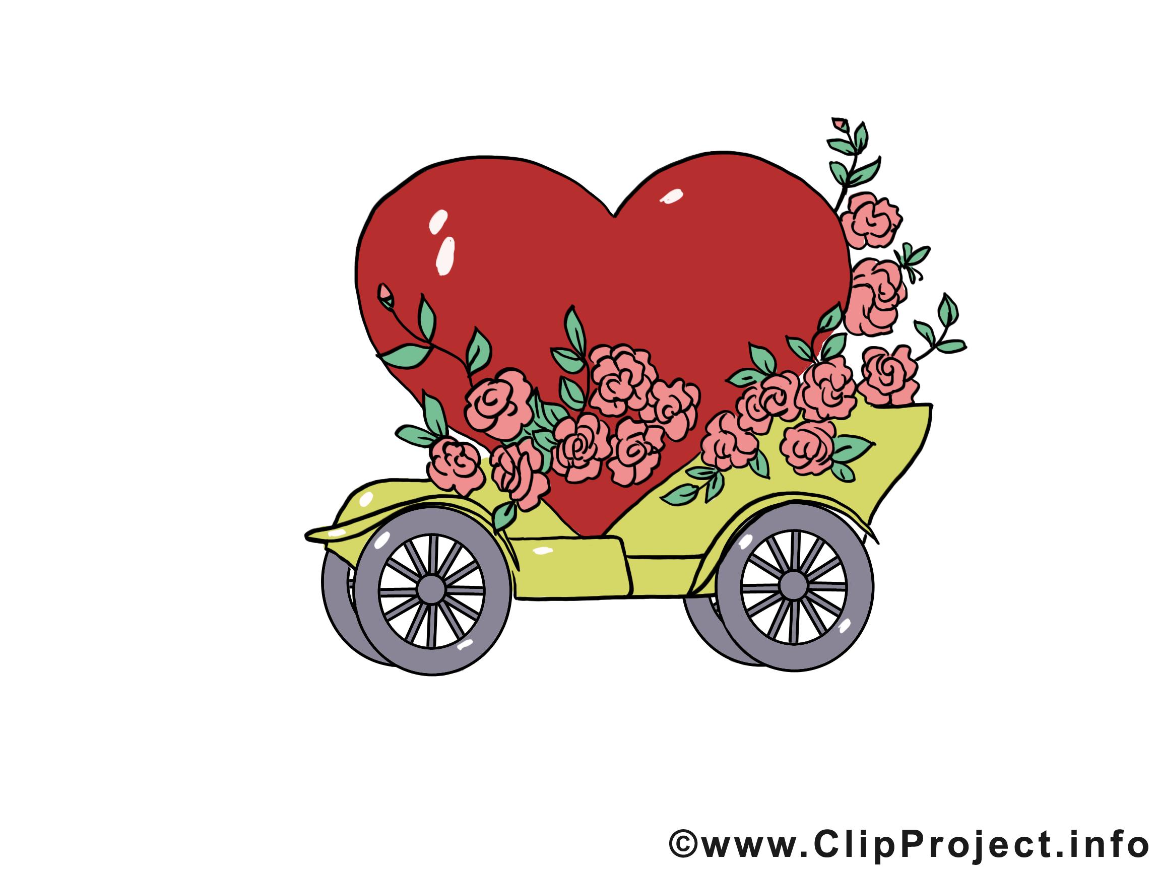 Mariage voiture à télécharger gratuite