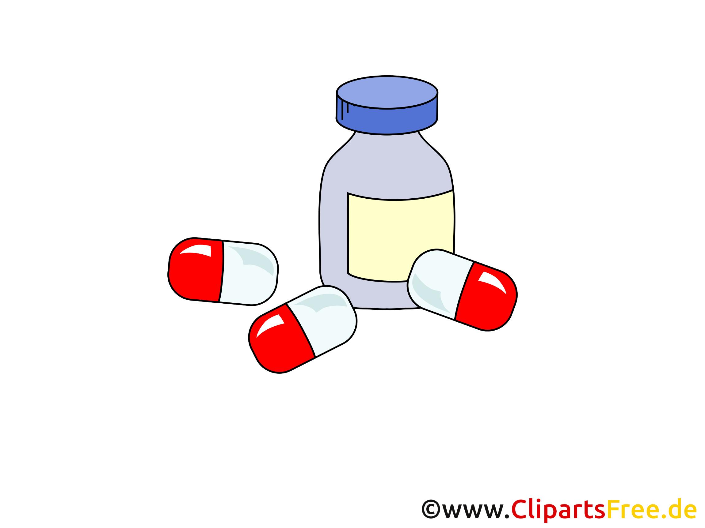 Cachets illustration - Médecine images