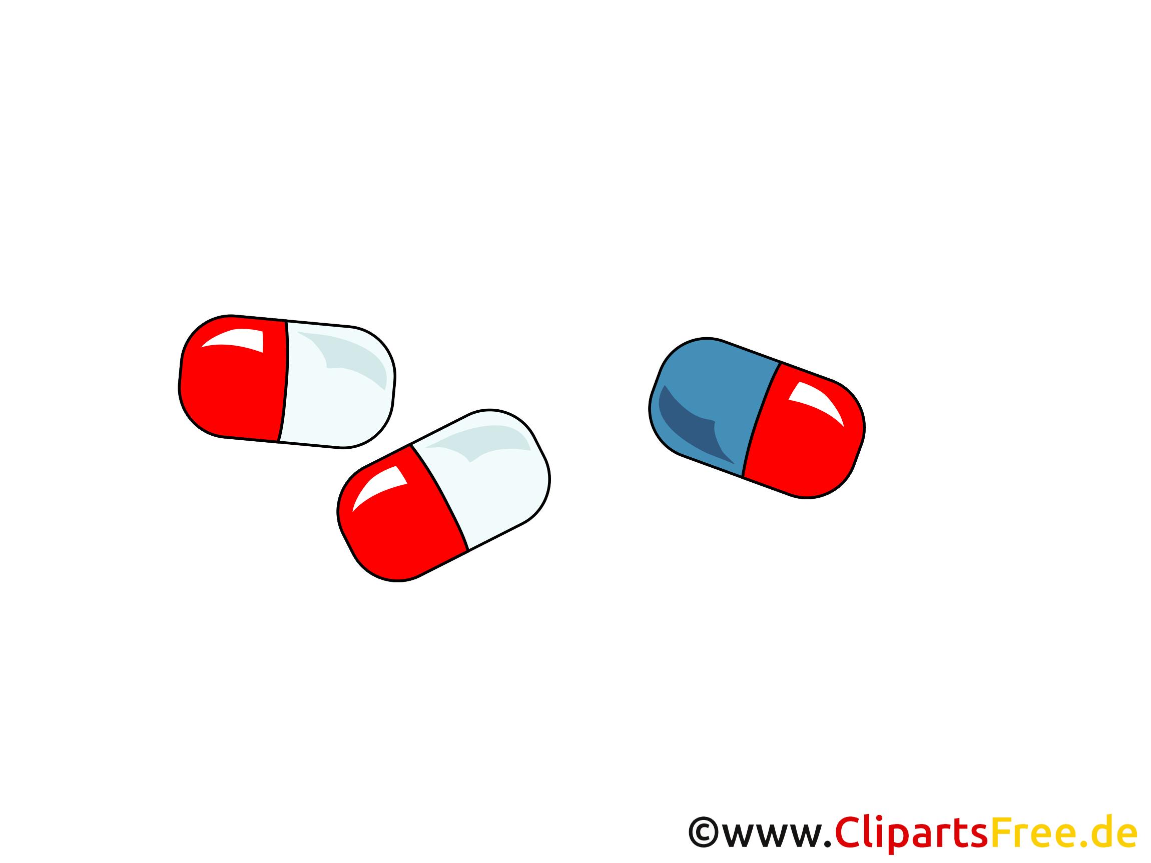 Comprimés illustration - Médecine images