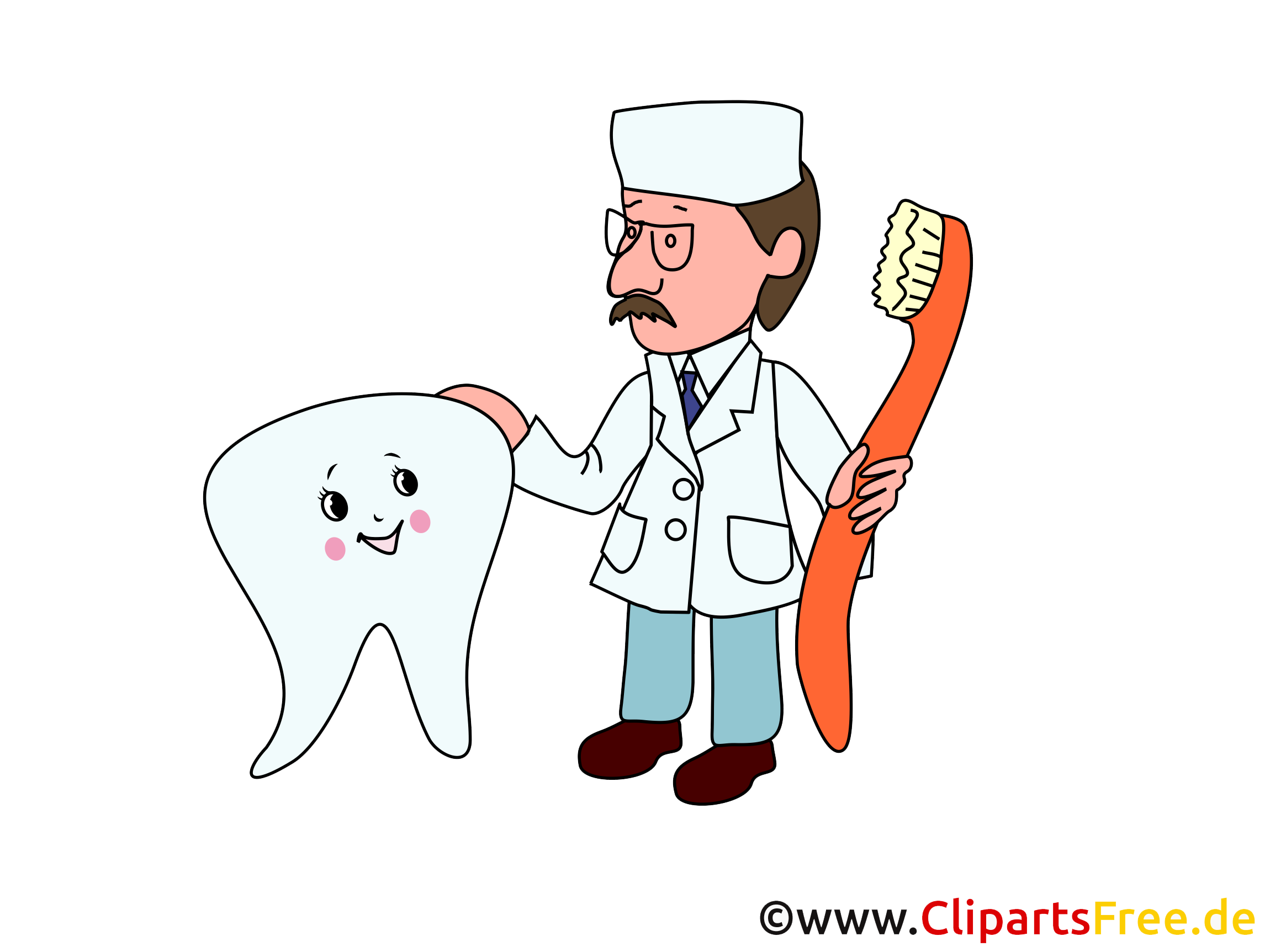 Dentiste illustration - Médecine images