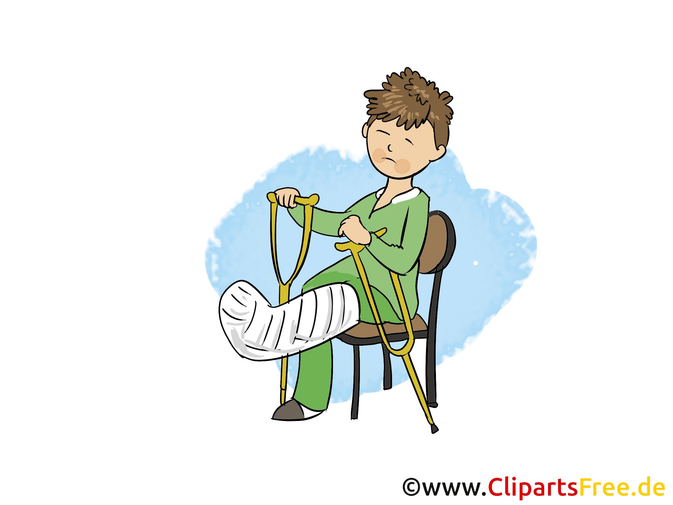 Fracture dessin - Médecine cliparts à télécharger