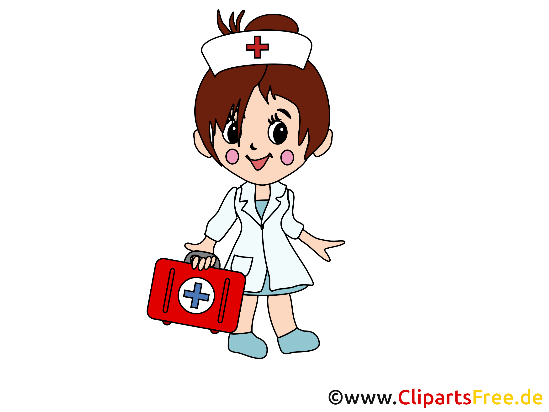 Images infirmière gratuites – Médecine clipart