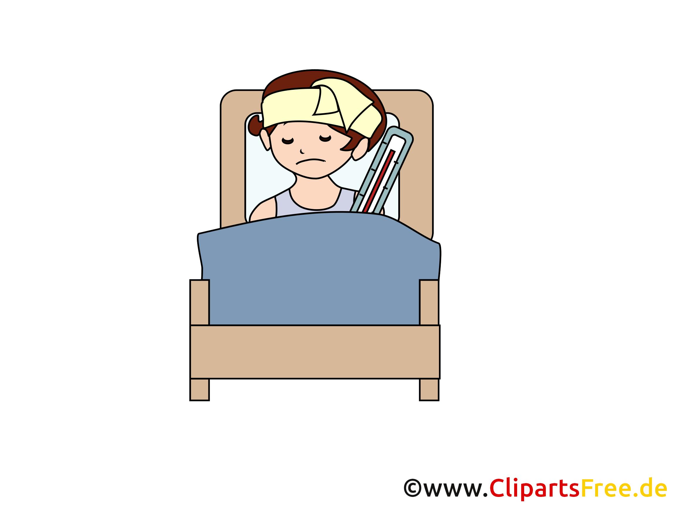 Malade dessin - Médecine à télécharger
