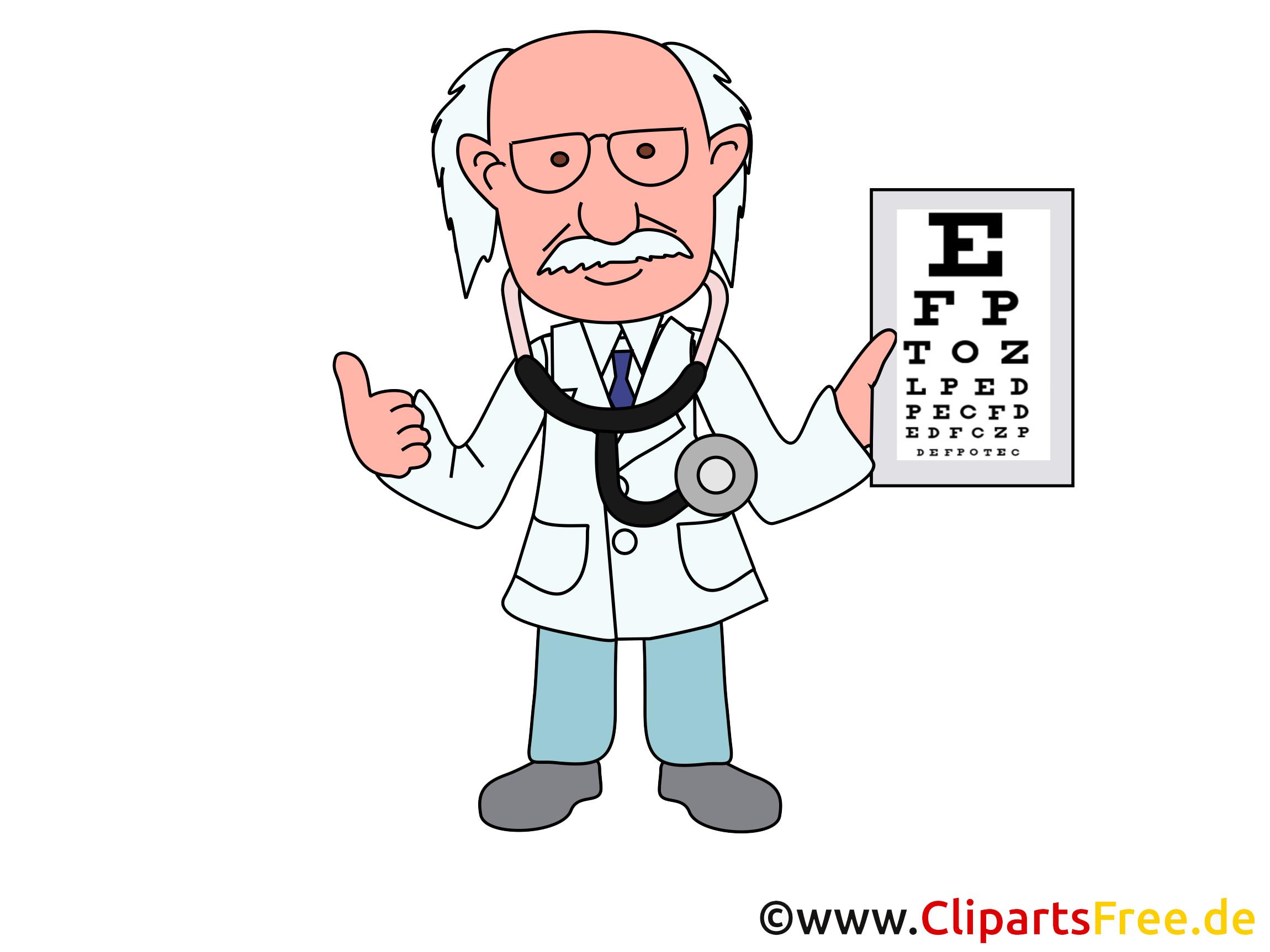 Oculiste médecine image à télécharger gratuite