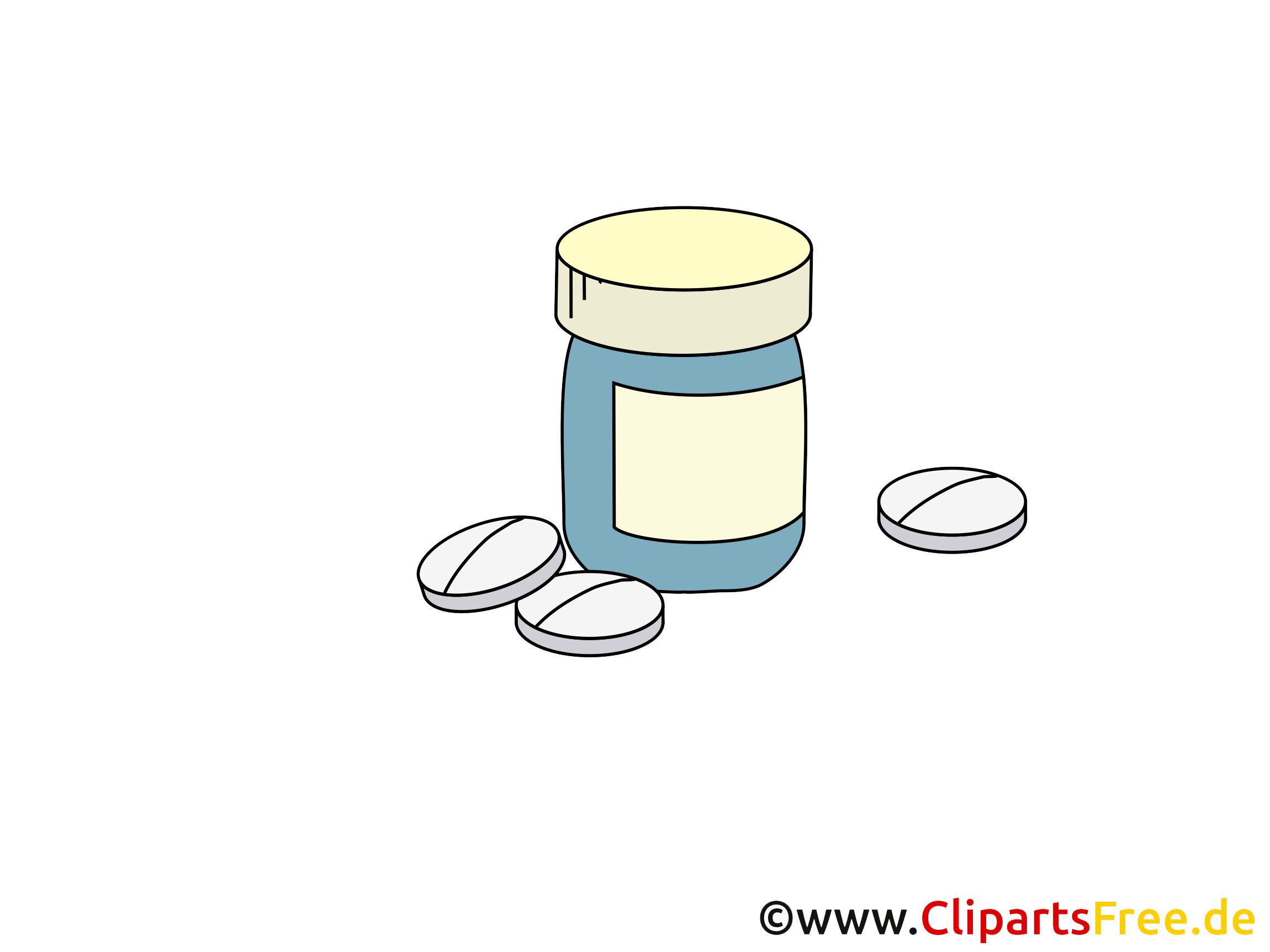 Vitamines clip art – Médecine gratuite