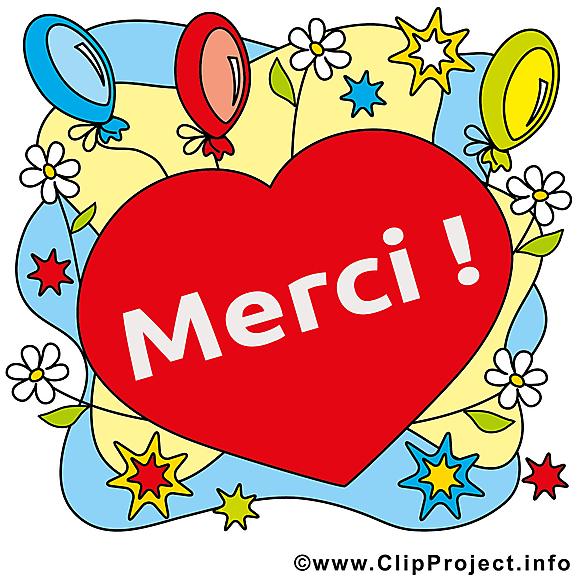 Coeur illustration gratuite merci clipart merci dessin picture image graphic clip art - Image coeur gratuit ...