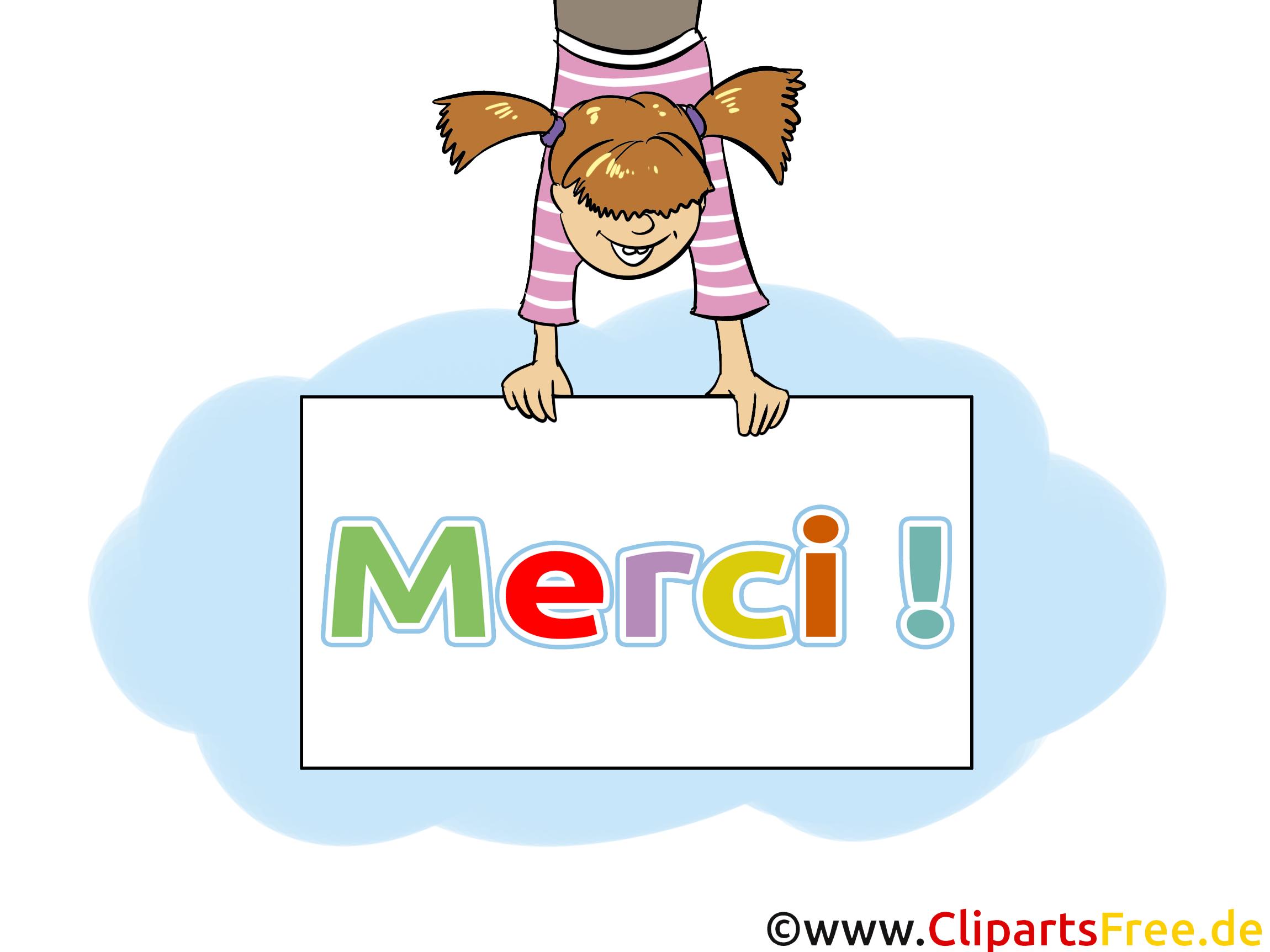 Fille Illustration Gratuite Merci Clipart Merci Dessin Picture Image Graphic Clip Art Telecharger Gratuit