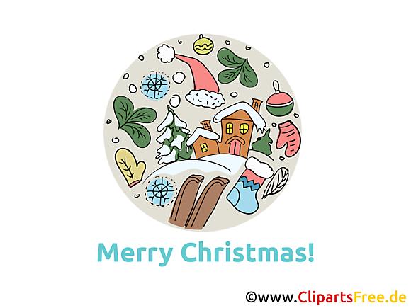 Cartes de Noël originales à télécharger gratuitement