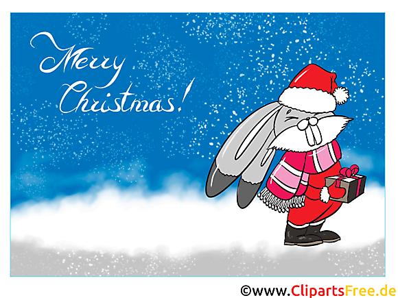 Joyeux Noël Carte de Voeux, Clipart, Card