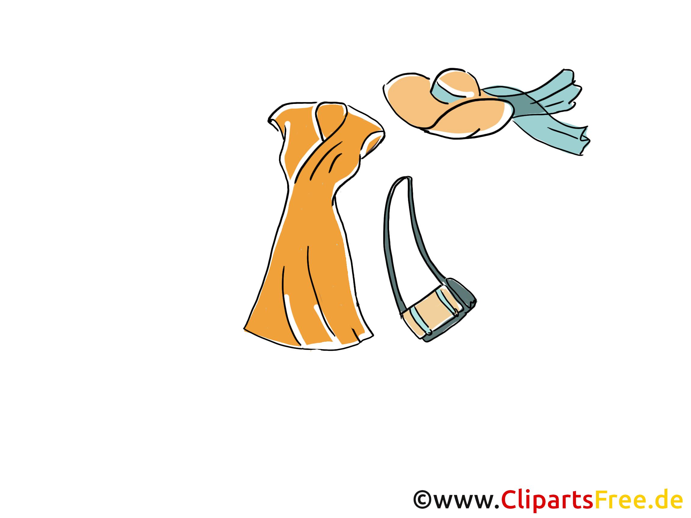 Femme vêtements dessin gratuit image