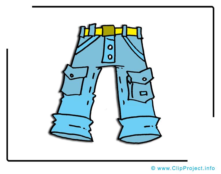 Jeans image gratuite cliparts