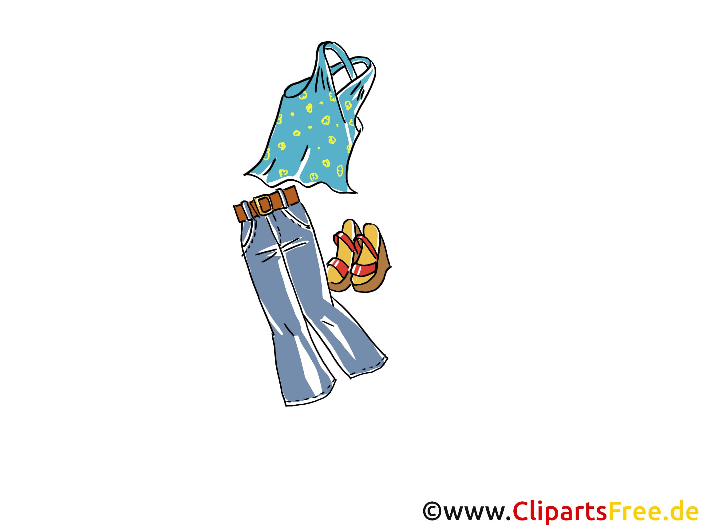 Mode illustration gratuite - Vêtements clipart