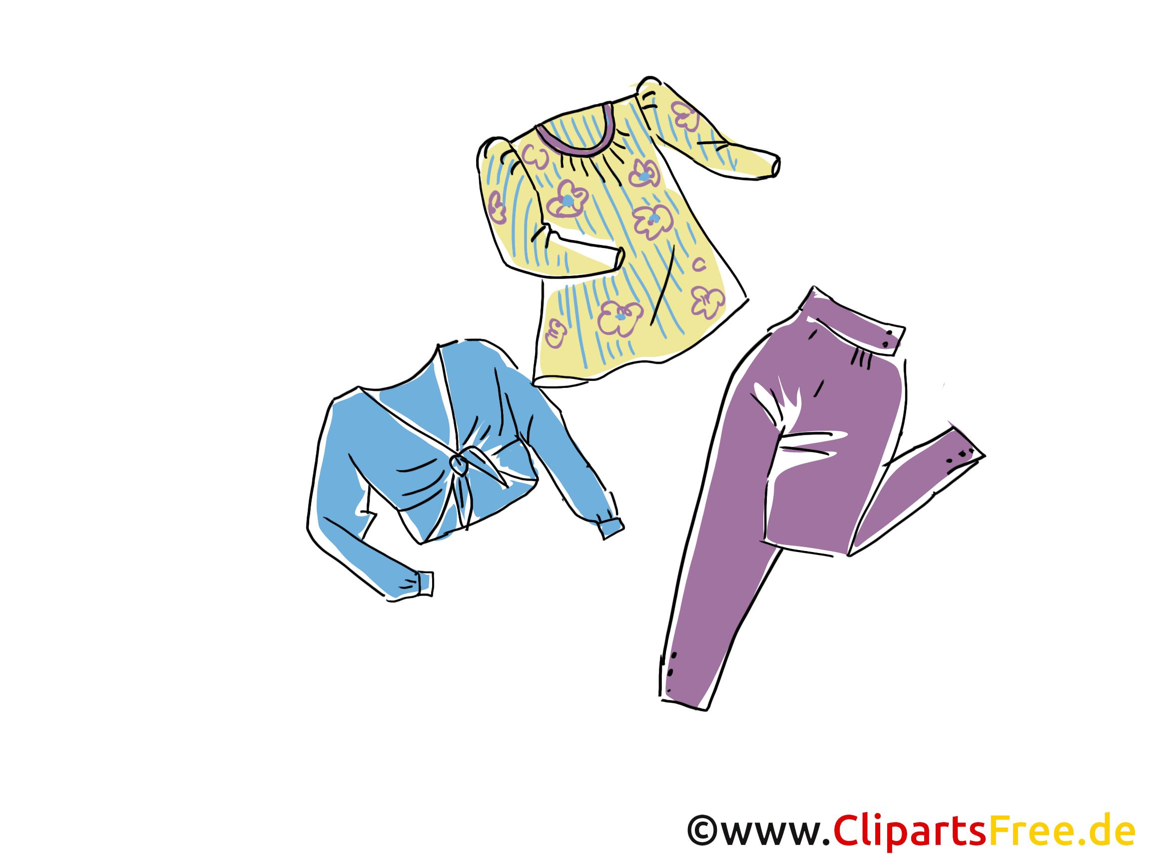 Mode vêtements dessins gratuits clipart