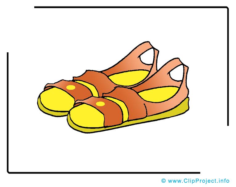 Sandales clip art gratuit images