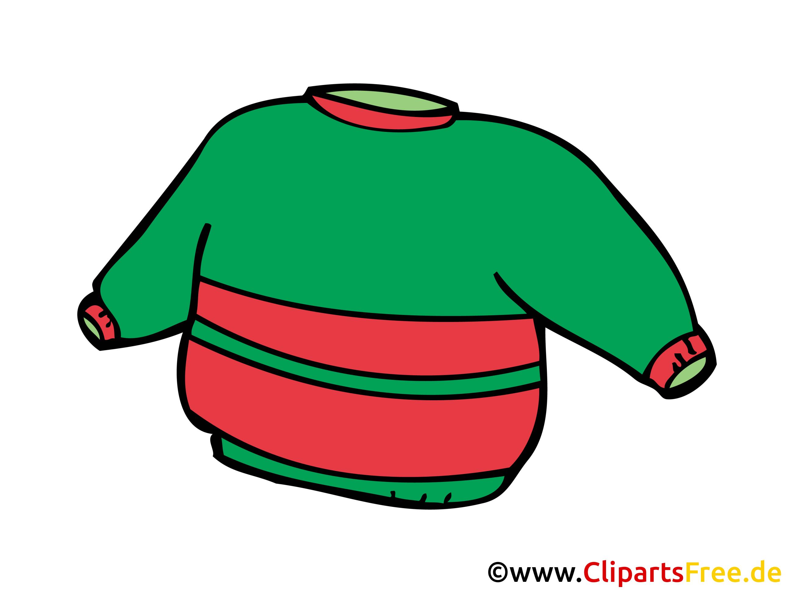 Sweater dessins gratuits clipart