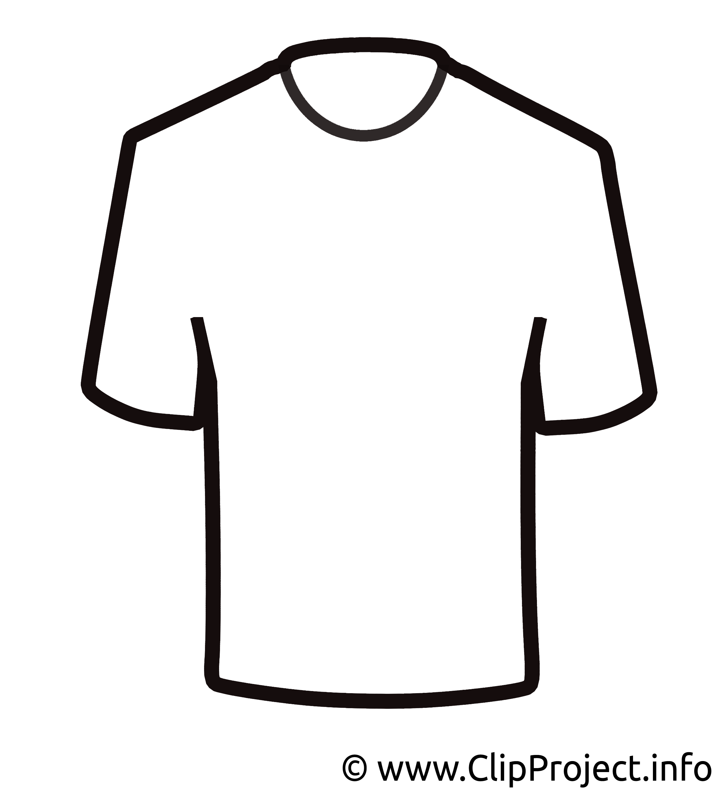 T-shirt vêtements clip art gratuit dessin