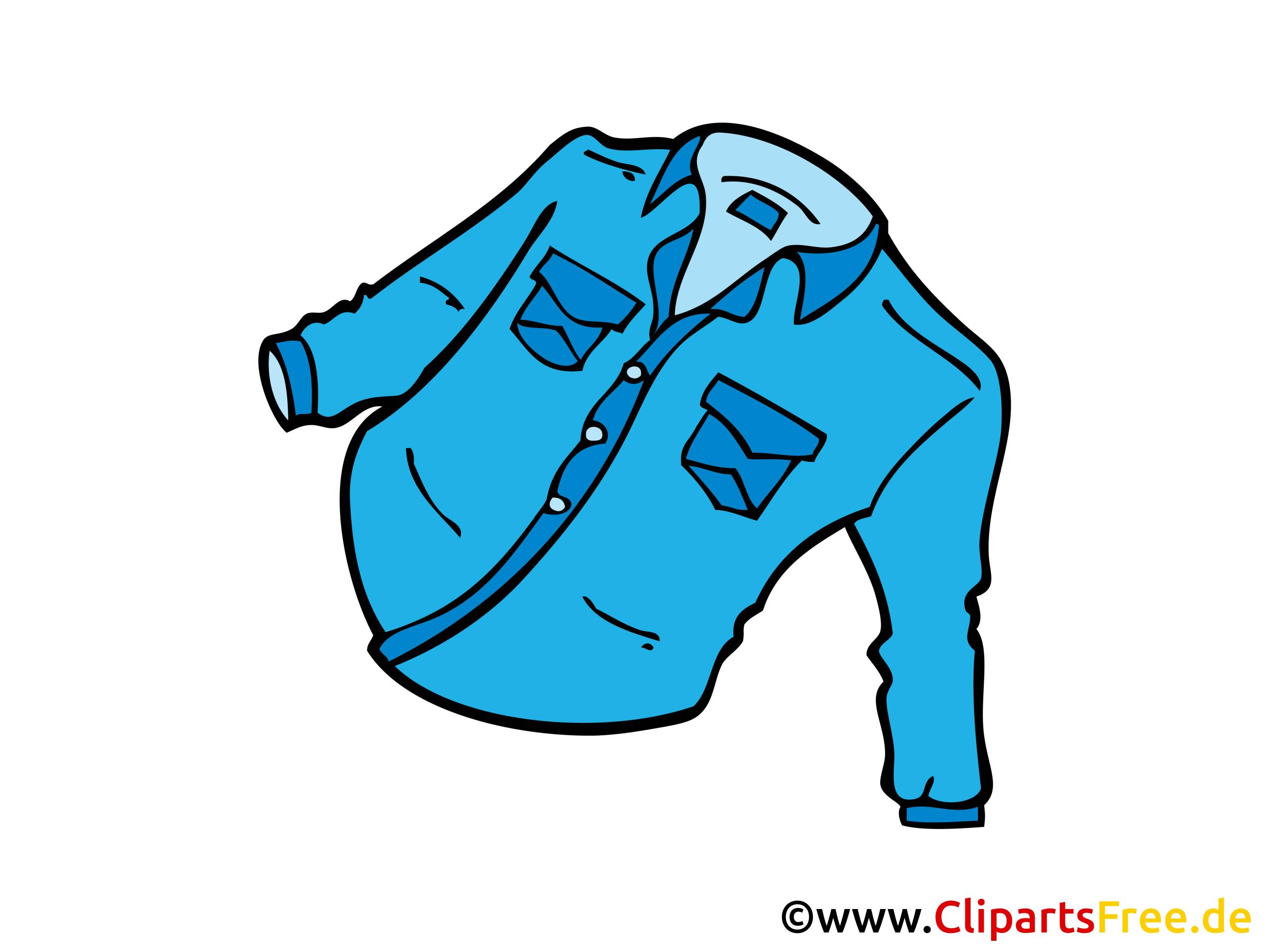 Veste en jean image à télécharger clipart