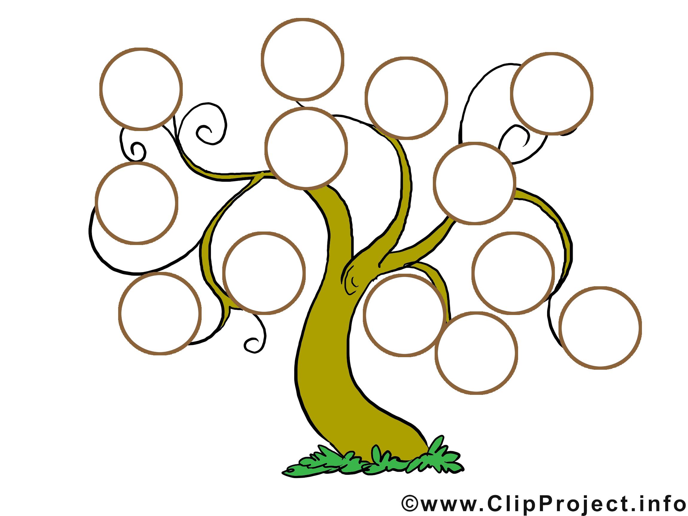 Arbre Genealogique Dessin Clip Arts Gratuits Modeles Dessin