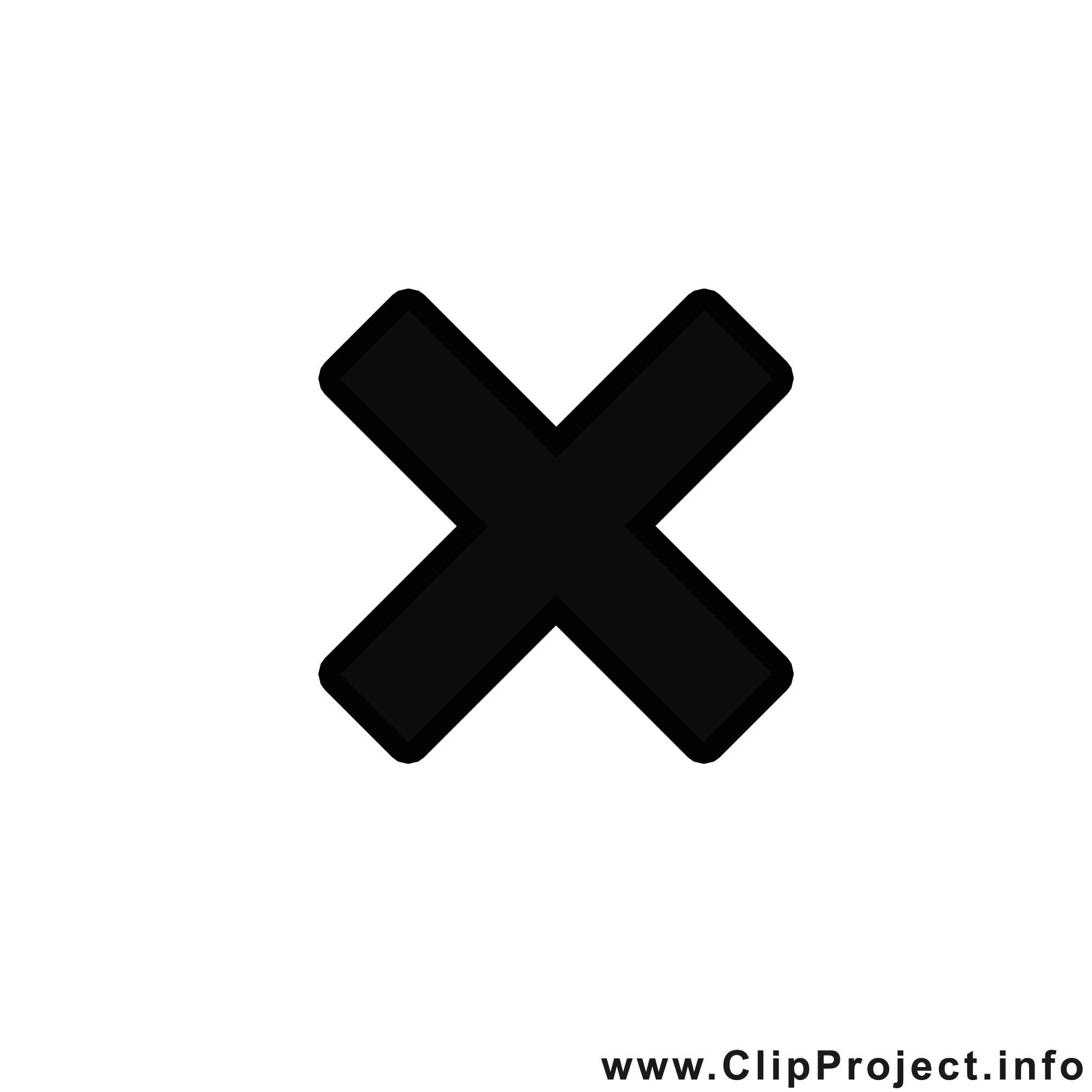 Croix images - Noir et blanc clip art gratuit