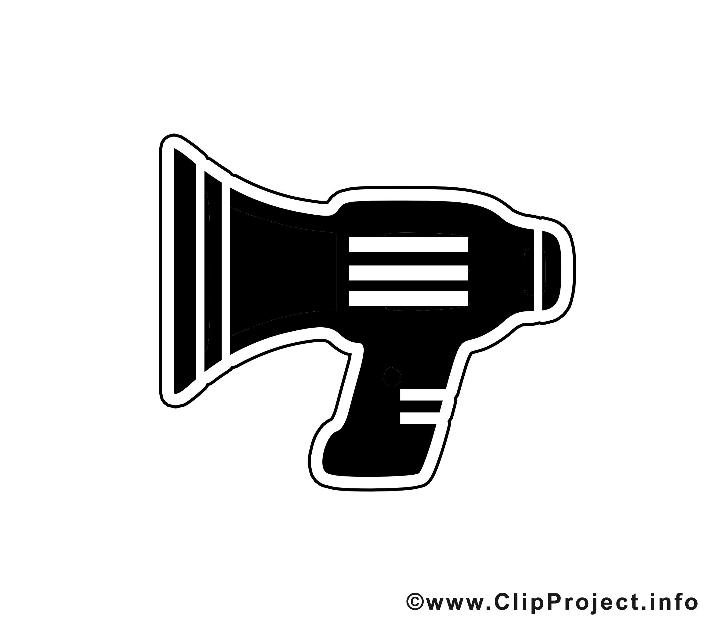 Haut-parleur dessin - Noir et blanc clip arts gratuits